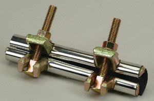 PROFLO® 1-1/2 x 6 in. Stainless Steel Repair Clamp PFRCJU