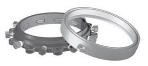 EBAA Iron Megaflange® 12 in. Flange Adapter with Stainless Steel Hardware E211200SS4