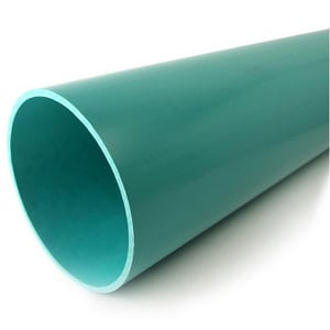 27 in. x 14 ft. PVC Grip Joint Sewer Drainage Pipe SDR26HWSP2714