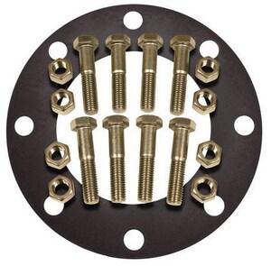 FNW® 12 x 1/8 in. 150# 316 Stainless Steel Neoprene Full Face Flange Package FNWNBGS61NEF812