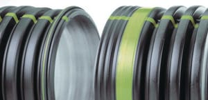 Advanced Drainage Systems N-12® 12 in. x 20 ft. HDPE Drainage Pipe A950020DW