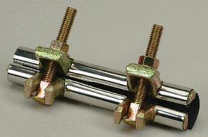 PROFLO® 2 x 6 in. Stainless Steel Repair Clamp PFRCKU