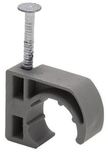 PROFLO® 1/2 in. Poly Half Clamp With Barb Nail PF34240