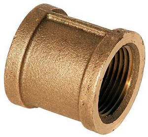 1/8 in. FNPT Brass Coupling IBRLFCA