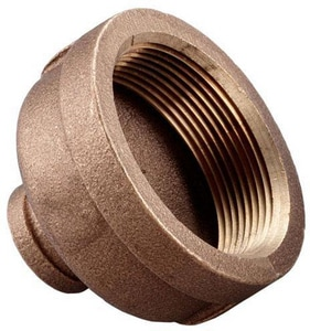 4 x 3 in. FNPT Brass Reducing Coupling IBRLFRCPM