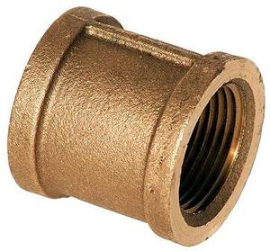 1/2 in. FNPT Brass Coupling IBRLFCD