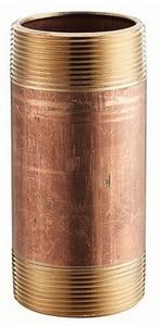 2 x 3-1/2 in. NPT Global Red Brass Straight Nipple GBRNKN at Pollardwater