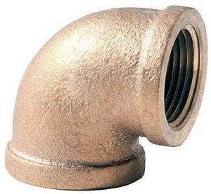 1-1/4 in. FNPT Brass 90 Degree Elbow IBRLF9H at Pollardwater