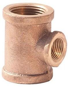 1 x 1 x 3/4 in. FNPT Brass  Reducing Tee IBRLFTGGF at Pollardwater