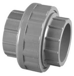 3 in. Socket x Slip Straight Schedule 80 PVC Union with EPDM O-Ring Seal P80SUM at Pollardwater