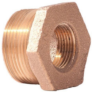 1 x 3/4 in. MNPT x FNPT Brass Reducing Bushing BRLFBGF