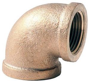 3 in. FNPT Brass 90 Degree Elbow IBRLF9M at Pollardwater
