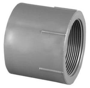 3 in. Socket x FPT Seamless and Straight Schedule 80 PVC Adapter P80SFAM at Pollardwater