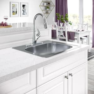 PROFLO® Single Handle Pull Down Kitchen Faucet in Chrome PFXC9011CP