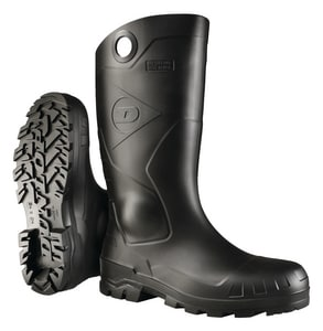 Onguard Industries Chesapeake Size 12 PVC Knee Boot with Plain Toe in Black O8677512 at Pollardwater