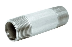 2-1/2 x 3-1/2 in. Threaded Galvanized Steel Nipple GNLN