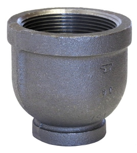 2 x 1/2 in. FNPT 150# Reducing Black Malleable Iron Coupling BRCKD
