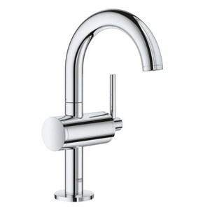 Grohe Atrio Single Handle Monoblock Bathroom Sink Faucet in StarLight® Chrome G23831003