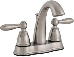 bothwell two handle bathroom sink faucet in brushed nickel