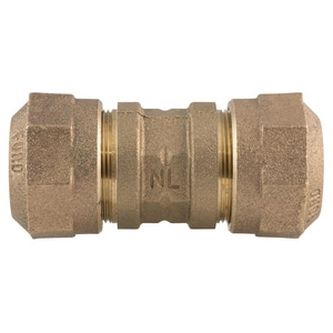 Ford Meter Box 1 in. Quick Joint Brass Coupling FC6644QNL