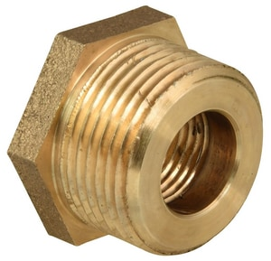 Ford Meter Box 1/2 x 1 in. MIP x FIP Water Service Brass Bushing FC1814NL