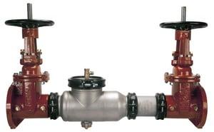 Zurn Wilkins Model 350AST 4 in. Stainless Steel Flanged 175 psi Backflow Preventer W350ASTROSYBP
