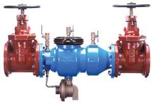 Zurn Wilkins 375 3 in. Ductile Iron Barbed 175 psi Reduced Pressure Principle Backflow Preventer W375M