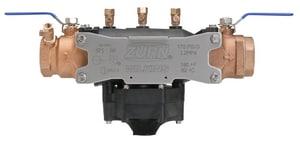 Zurn Wilkins 375 1-1/2 in. Ductile Iron Barbed 175 psi Reduced Pressure Principle Backflow Preventer W375J