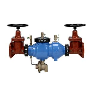 Zurn Wilkins 375A 3 in. Epoxy Coated Ductile Iron Flanged 175 psi Backflow Preventer W375AM at Pollardwater