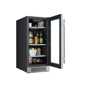 Avallon 15 in. Built-In Beverage Cooler with Right Hand Door in Stainless Steel AABR151SGRH