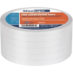 Shurtape AF 984CT 3 in. x 50 yd. Silver FSK Duct Tape SAF984M50