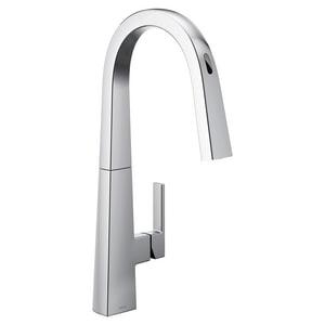Moen Nio™ Single Handle Pull Down Sensor Kitchen Faucet in Chrome MS75005EVC