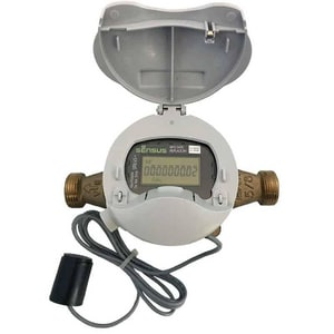 Sensus 5/8 x 3/4 in. Bi-Alloy Bismuth and Envirobrass II Water Meter with Electronic Register+ SSX2X138P1GLXSXD