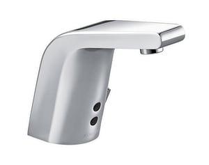 KOHLER Sculpted No Handle Sensor Bathroom Sink Faucet in Polished Chrome K13460-CP