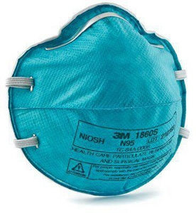 Moore Medical S Size N95 Particulate Respirator in Teal M65694