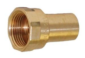 Apollo Conbraco 1 in. FTG x Female Brass Adapter A10075772