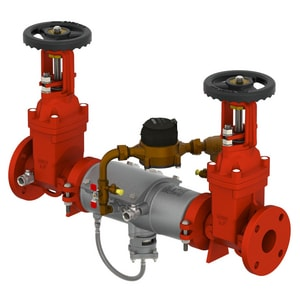 Ames Fire & Waterworks Deringer 50/50G 2-1/2 in. 304 Stainless Steel Flanged Backflow Preventer AD50GGPM