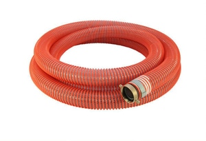 Abbott Rubber Co Inc 8 in. x 20 ft. MNPSH x FNPSH Braided PVC Suction Hose A1242800020 at Pollardwater