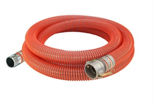 Abbott Rubber Co Inc 6 in. x 20 ft. MNPSH x Female Quick Connect Braided PVC Suction Hose A1242600020CN at Pollardwater