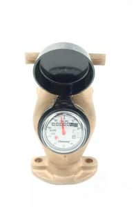 Mueller Model MVR 2 in. Water Meter, Cubic Feet MQ0PS131 at Pollardwater