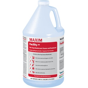 Midlab Maxim® Facility + 1 gal Facility Plus Hydrogen Peroxide One Step Disinfectant Cleaner Concentrate (Case of 4) M04620041