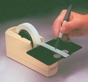 Bel-Art Products 3-3/8 x 8-3/8 in. Tape Dispenser BH134610000 at Pollardwater