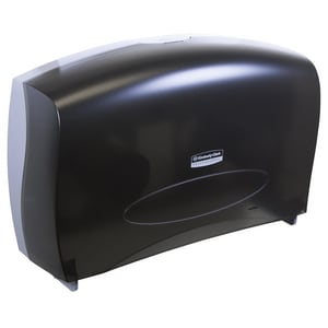 Scott® Essential™ In-sight JRT Jr. Combo Bath Tissue Dispenser with Stub in Smoke and Grey KC09551