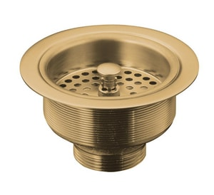 KOHLER Duostrainer® Sink Strainer (Less Tailpiece) in Vibrant Brushed Bronze K8799-BV