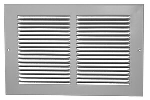 PROSELECT® 14 x 14 in. Residential 1-way Return Grille in White Steel PSRG3W1414