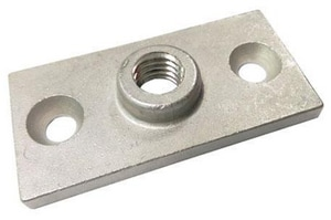 FNW® 3/8 in. Threaded Stainless Steel Plate Bolt Ceiling Flange FNW7502SC