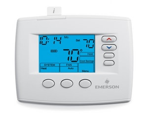White Rodgers 2H/2C 5 + 1 + 1 Day Programmable Digital Thermostat 24V W1F850422