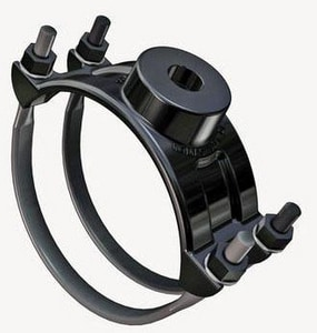 Romac Industries 6 x 3/4 in. CC Double Strap Saddle R202069031
