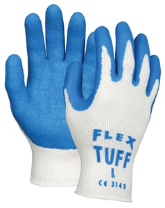 MCR Safety FlexTuff® Flex Tuff Cotton/Polyester Shell Gloves Extra Large M9680