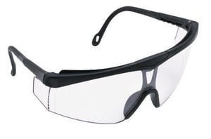 Jackson Safety Nemesis™ Safety Glasses With Clear Lens In Black Frame JAC14464